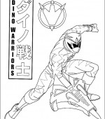 coloriage power ranger 005